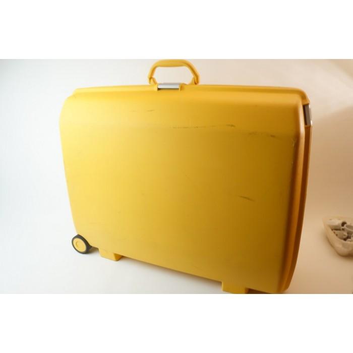 american tourister koffer geel cijferslot 75x60x25 cm. Black Bedroom Furniture Sets. Home Design Ideas