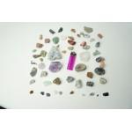 Partijtje natuurstenen en mineralen
