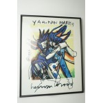 Herman brood print nr 5, yaa-man marley