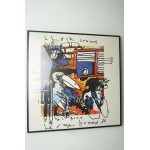 Herman brood print nr 4, black crows