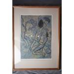Erotische litho M. Neuyn PS, 14 / 16
