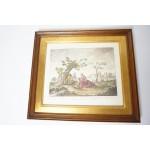 Giuseppe Dall'Acqua ESTATE kleuren gravure Ca. 1785