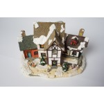 Kerst huisje - dorp met verlichting - kerstdorp (3)