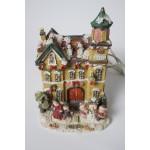 Kerst huisje - dorp met verlichting - kerstdorp (4)