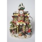 Kerst huisje - dorp met verlichting - kerstdorp (6)