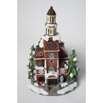 Kerst huisje - dorp zonder verlichting - kerstdorp (8)