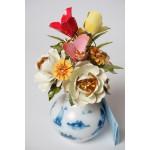 The Royal Dutch Bouquet by Igor Carl Faberge Franklin Mint 1980